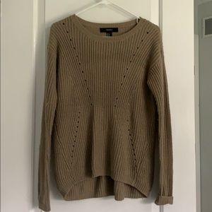 Light Brown Oversized Sweater
